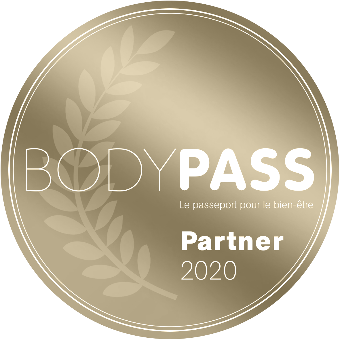 Label Body Pass Partner 2020 (bronze)
